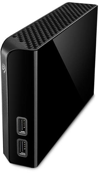 Seagate Backup Plus Hub 4TB Zwart