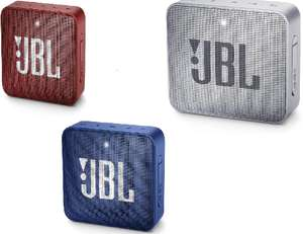 JBL Go 2 - Grijs, rood & blauw @ Amazon.nl
