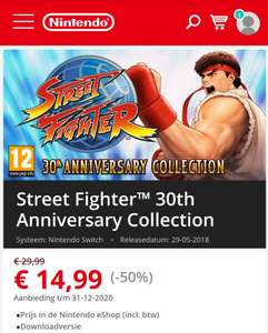 [Nintendo Switch e-shop] Street Fighter™ 30th Anniversary Collection
