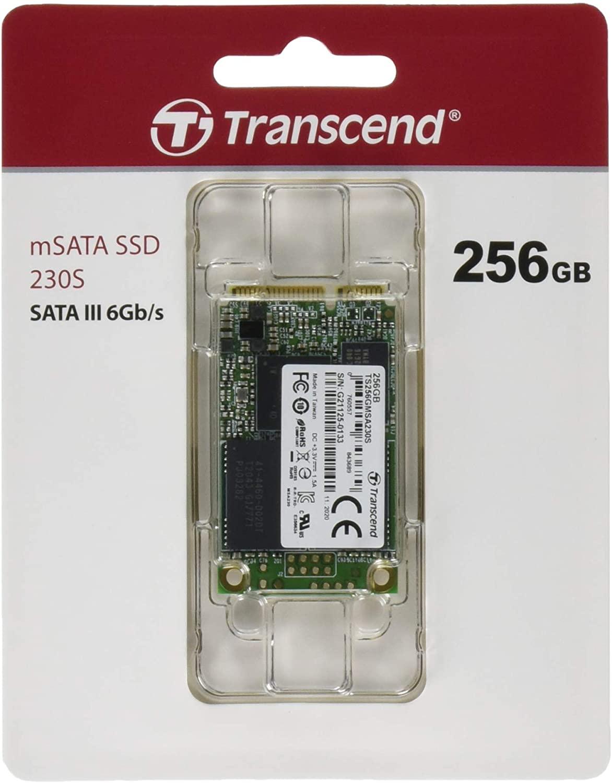 Transcend mSATA 230S 256GB SSD @ Amazon.nl