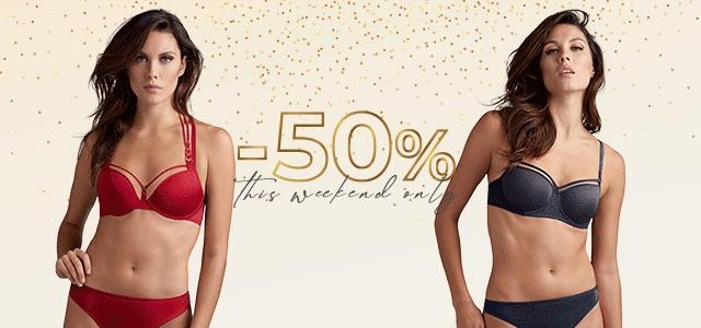 50% korting op 'sparkle & shine' lingerie @ Marlies Dekkers