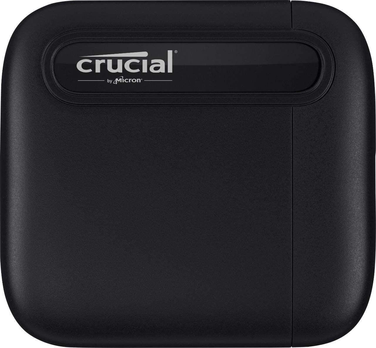 Crucial X6 1TB Externe SSD Zwart
