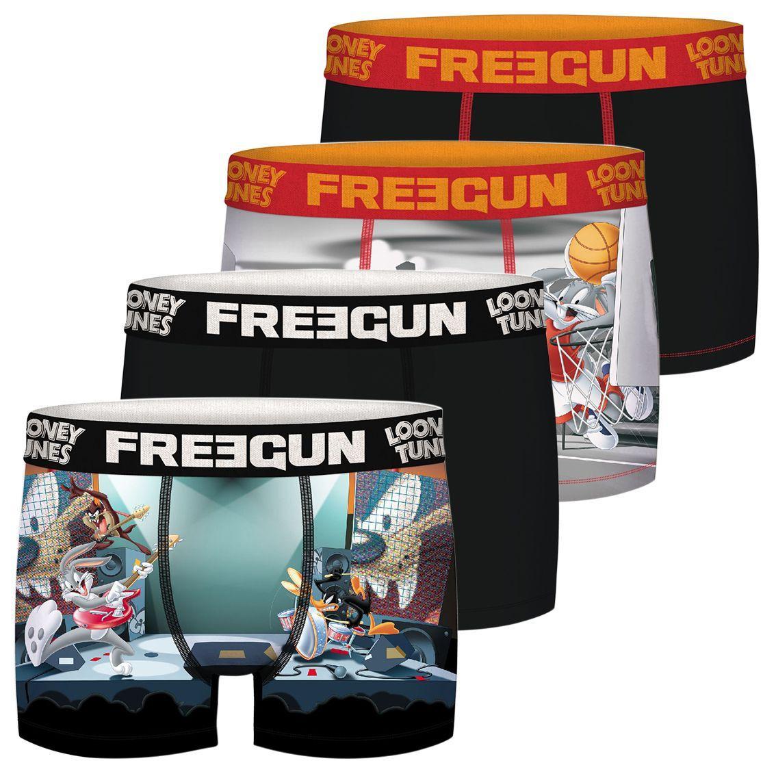 Freegun Looney Tunes 4-pack boxershorts voor €8,88 @ Amazon.nl