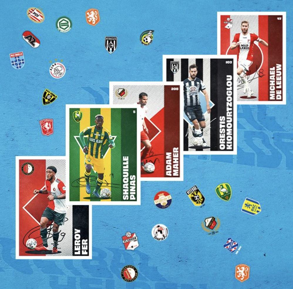 Albert Heijn voetbalplaatjes sparen met gratis verzamelalbum