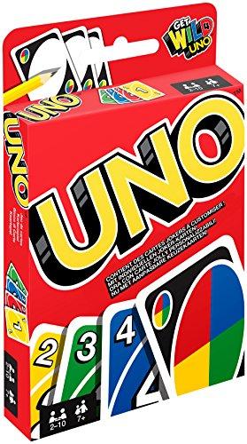 Mattel Games W2087 Uno Kaartspel