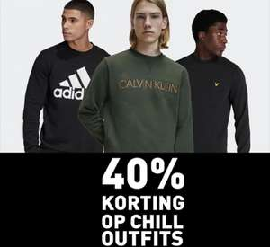 Intersport twinsport 40% op chilloutfits