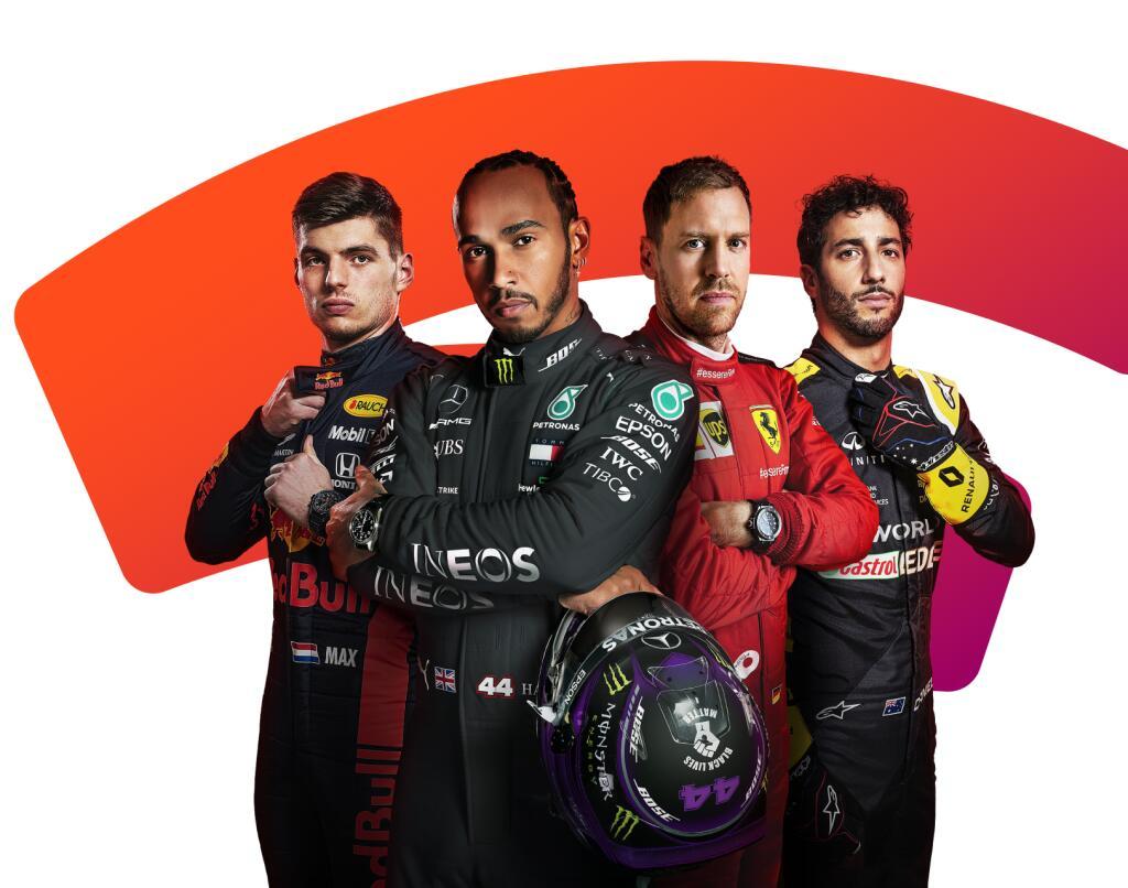 F1 2020 Spel Gratis met Stadia Pro