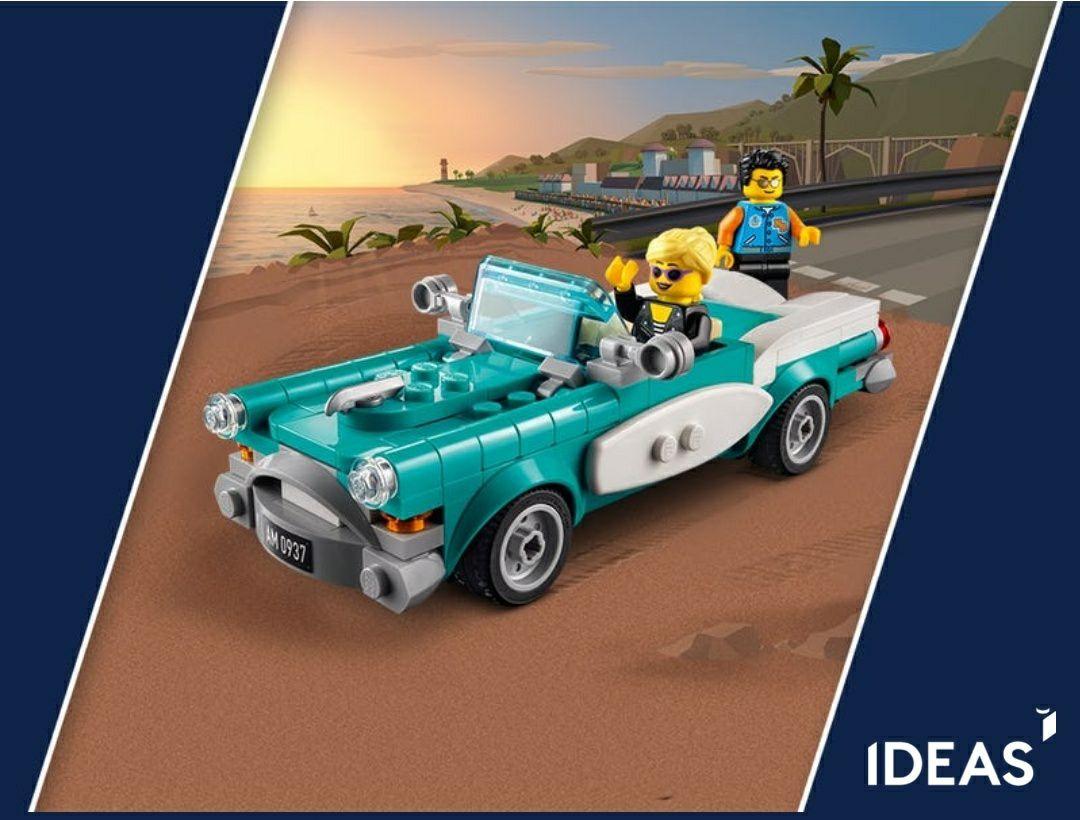LEGO gratis klassieke auto bij besteding van 85 euro + gratis verzending.