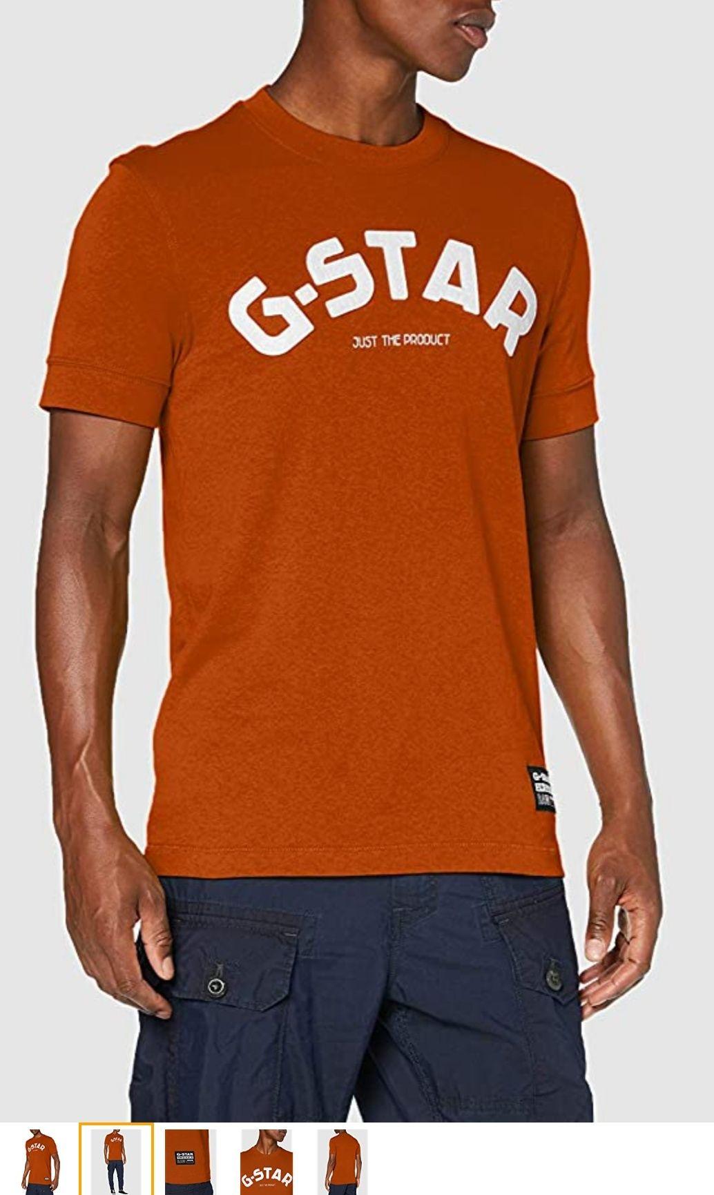 G-Star Raw heren t-shirt Felt Applique Logo Slim