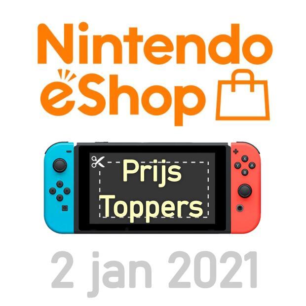 Prijs Toppers 2 jan 2021 | Nintendo Switch eShop
