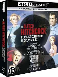 The Alfred Hitchcock Classic Collection (4K Ultra HD + Blu-Ray)