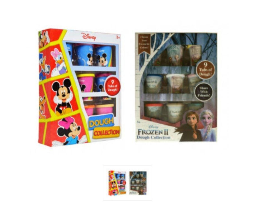 Disney - Speeldeeg/klei Set Frozen en Mickey Mouse