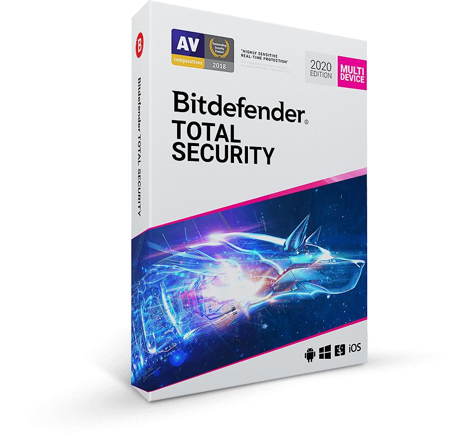 Bitdefender Total Security 2021 5 apparaten voor 1 jaar (én in 2022 dezelfde prijs)