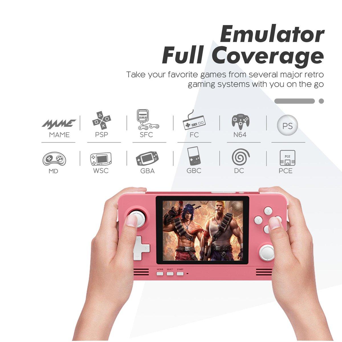 Retroid Pocket 2 Handheld Retro Gaming System GBA GBC PSP N64