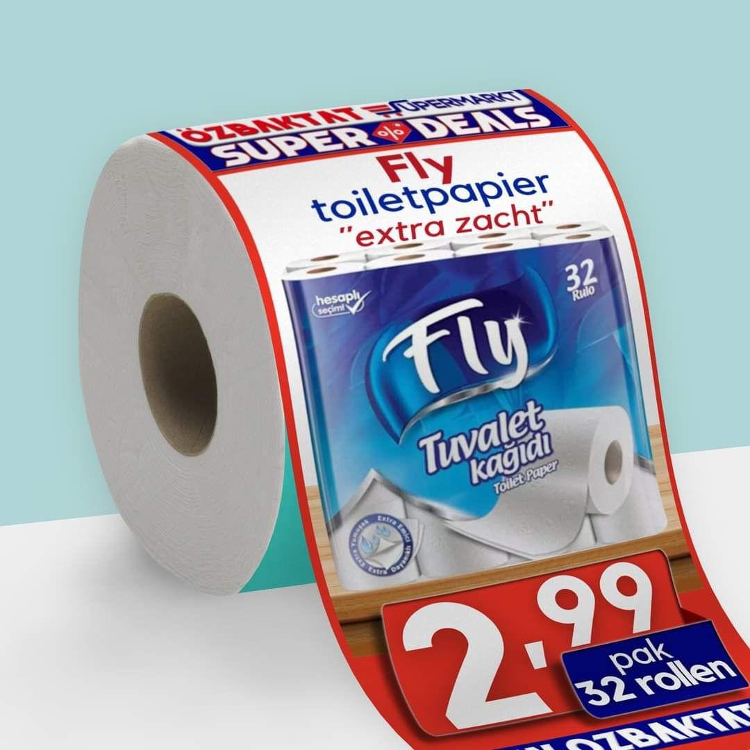 [Apeldoorn] 32 Rollen extra zacht WC papier toiletpapier
