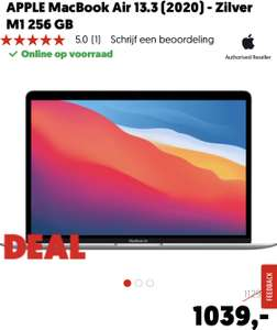 MacBook Air M1 8Gb - 265Gb