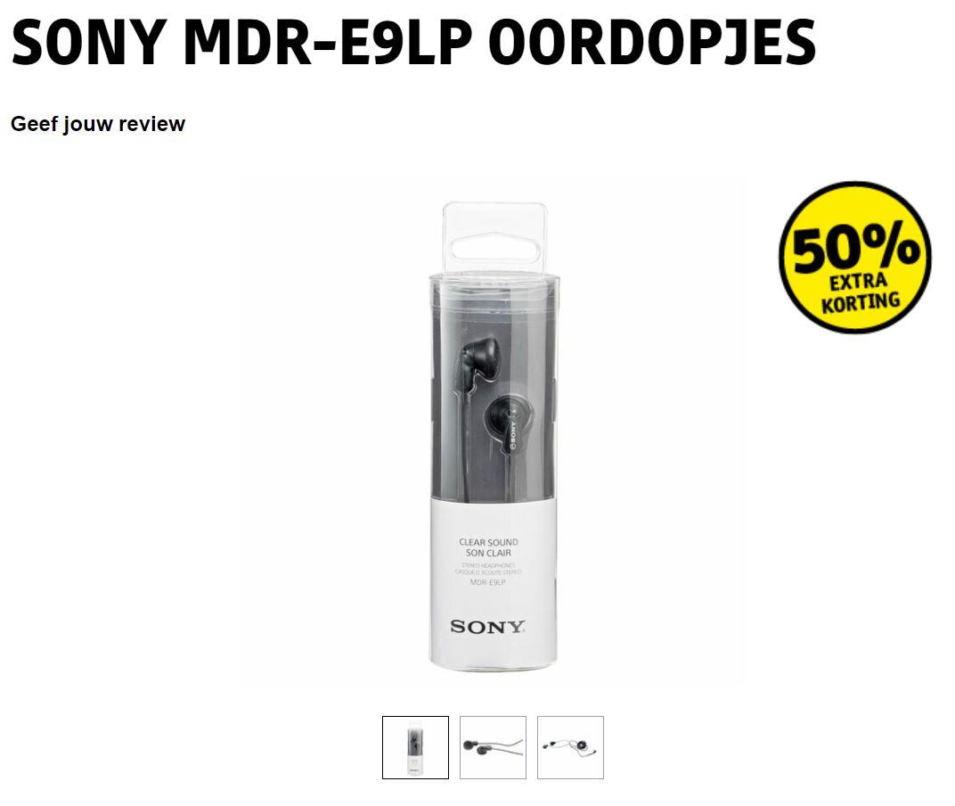 Sony MDR-E9LP oordopjes