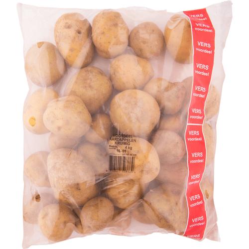 Kruimige aardappelen 4kg €1 @ Dirk (€0,25/kg)