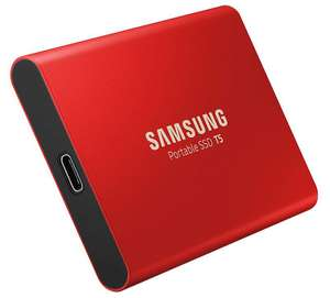 Samsung T5 Draagbare Externe Solid State Drive, 500Gb, Rood