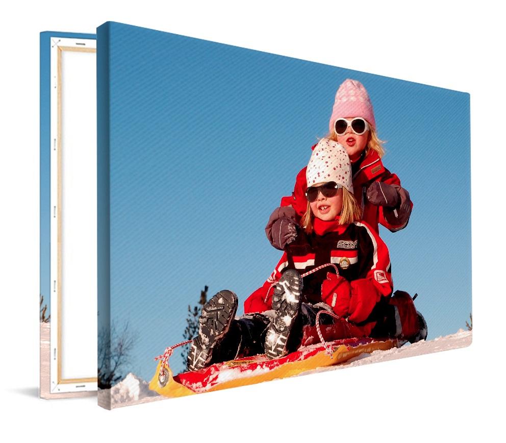 Foto op canvas 60x40 of 50x50 + gratis verzending twv €7,50 @ Fotoproducten.nl