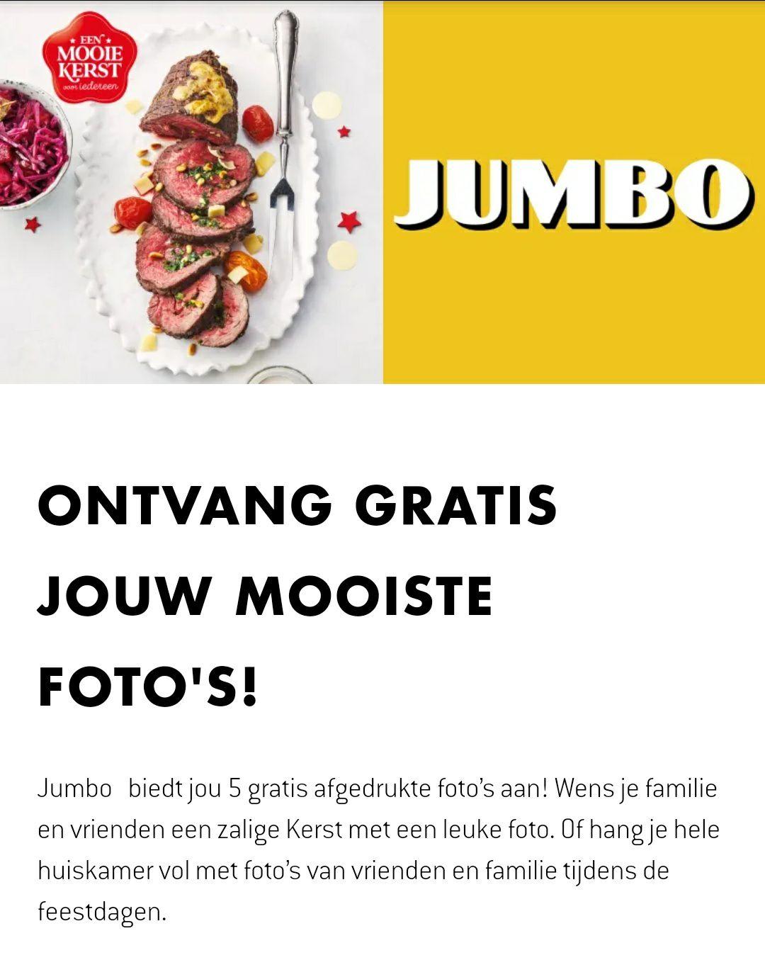 Voor Belgen: 5 gratis foto afdrukken