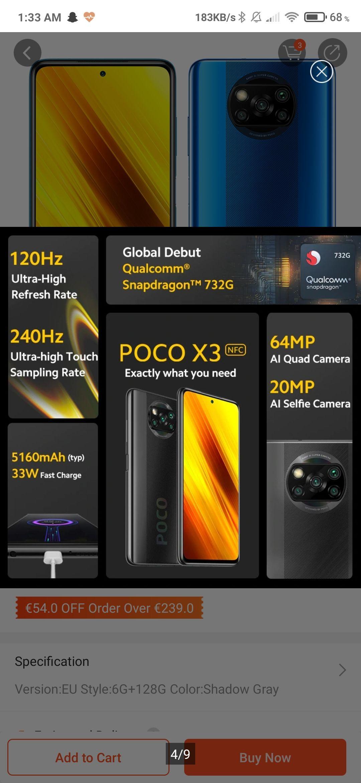 Poco X3 met kortingscode voor €175!