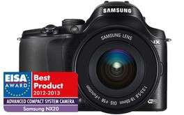 Samsung NX20 + 18-55mm kit (demo model) voor €349 @ Foka