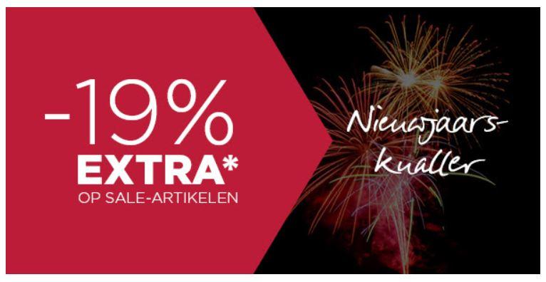 Met code 19% EXTRA korting op sale @ ETERNA
