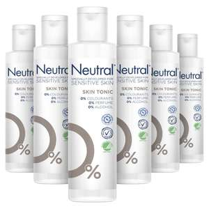 Neutral sensitive skin tonic