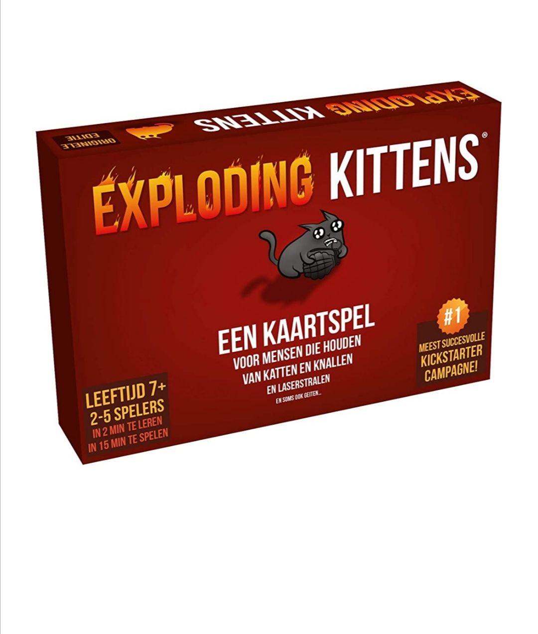 Exploding Kittens NL-versie* Prime gratis verzending