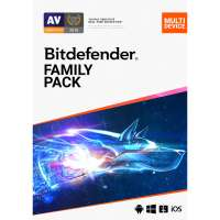 Bitdefender Family Pack 2021 [15 apparaten voor 2 jaar]
