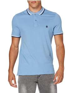 Springfield Slim Fit Tipped polo shirt voor €4,33 @ Amazon.nl