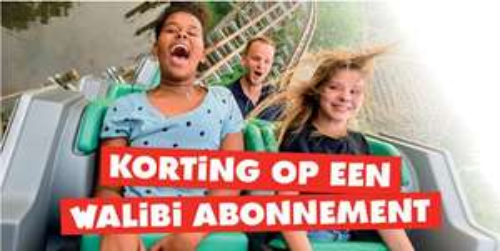 10 euro korting op je Walibi abonnement