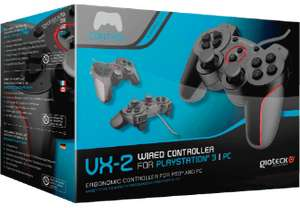 GIOTECK VX-2 Wired PS3-controller voor €14,99 @ Media Markt