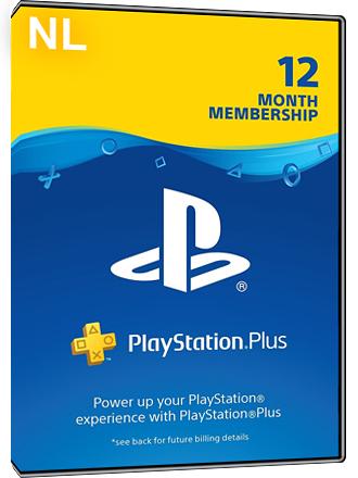 Playstation Plus 12 maanden