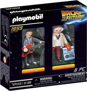 Back to the Future Playmobil @ Amazon.nl
