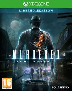 Murdered: Soul Suspect (Limited Edition) (Xbox One) voor €21,59 @ Zavvi