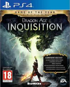 Dragon Age III: Inquisition Game of The Year Edition (PS4/Xbox One) voor €21,95 @ Coolshop