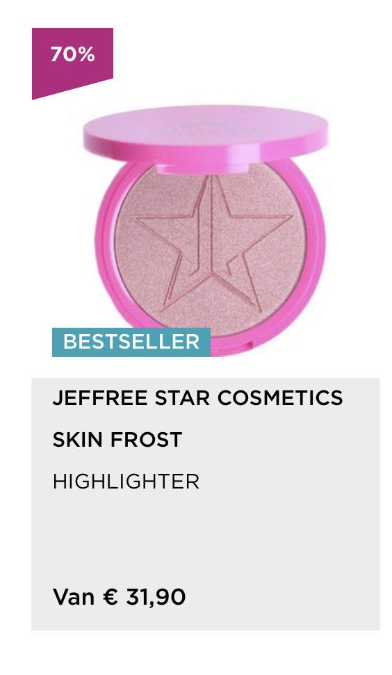 Jeffree Star skin frost highlighter Dark Horse
