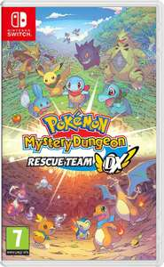 Pokemon Mystery Dungeon: Rescue Team DX (Nintendo Switch) @Amazon IT