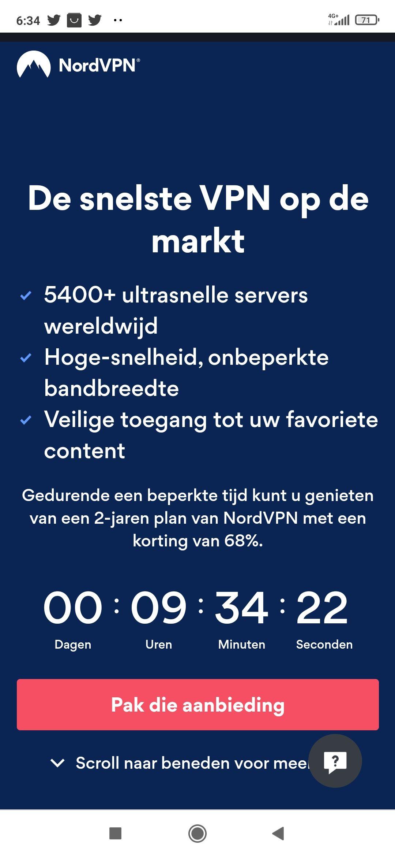 Nord VPN 2 jaar plan