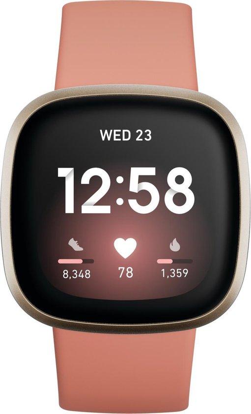 Fitbit Versa 3 - Smartwatch - Alle kleuren