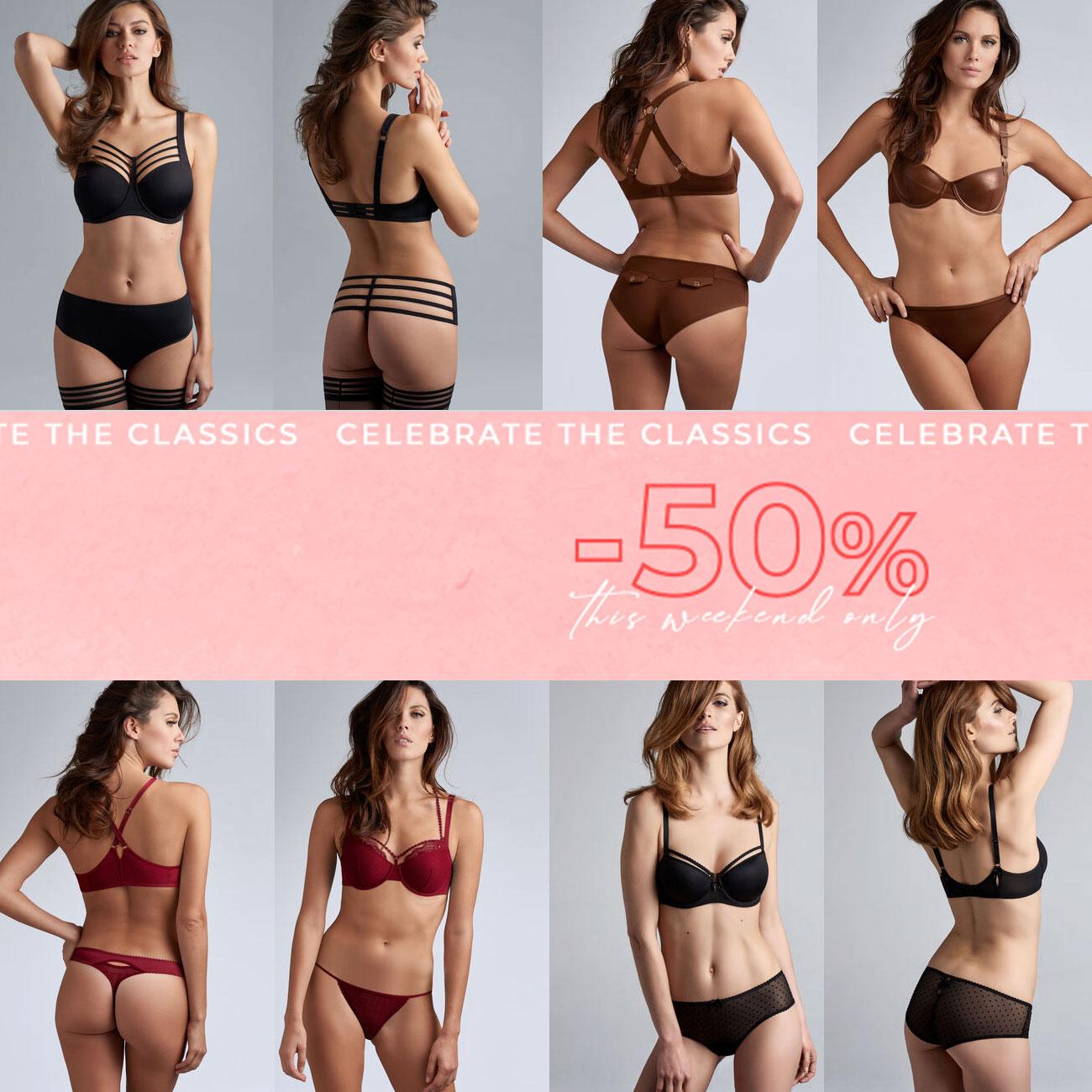 Classics: 50% korting op 60+ items @ Marlies Dekkers