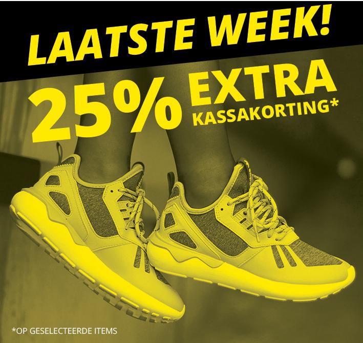 25% EXTRA korting @ Frontrunner