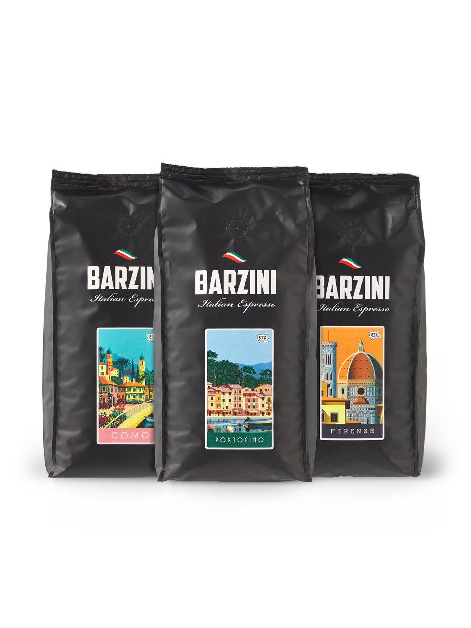 15% Korting op Barzini Espressobonen