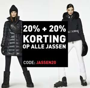 20%+20% korting op alle jassen Intersport Twinsport