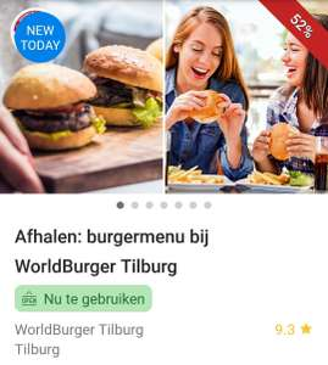 (LOKAAL)Burgermenu bij Worldburger in Tilburg