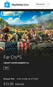 Far Cry 5 PS4 in Playstation Store