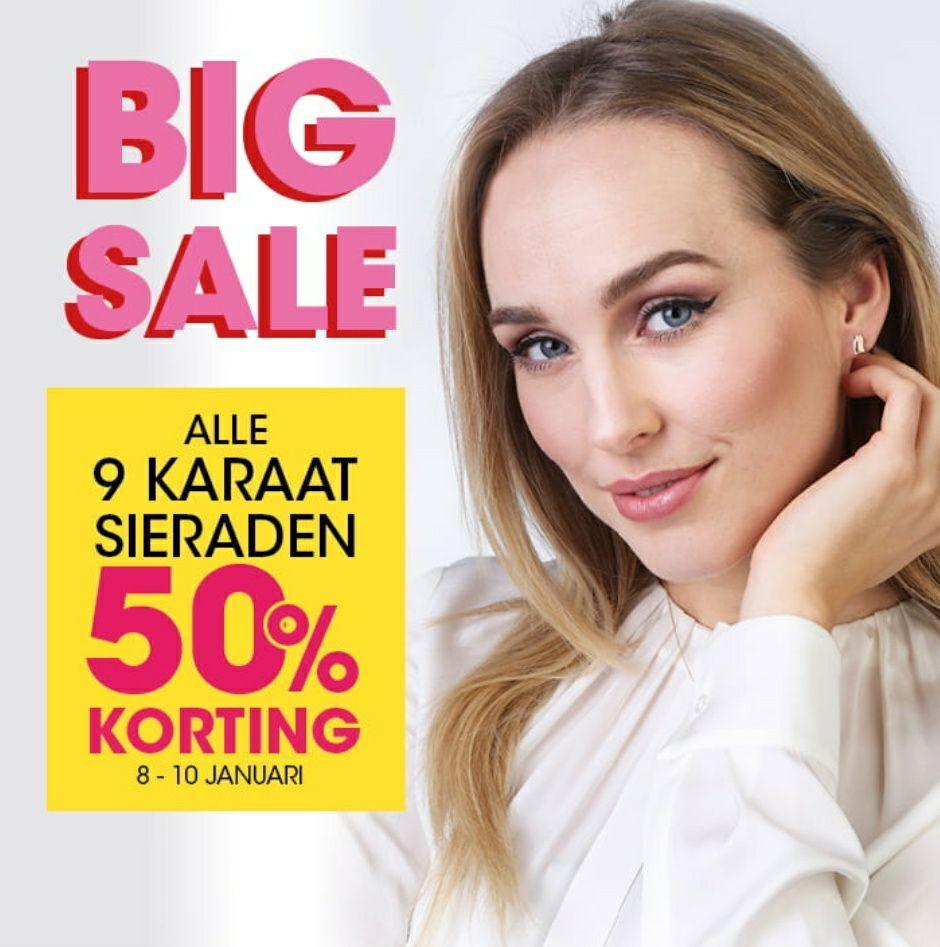 Lucardi | -50% op alle 9 Karaat sieraden [Weekend deal]