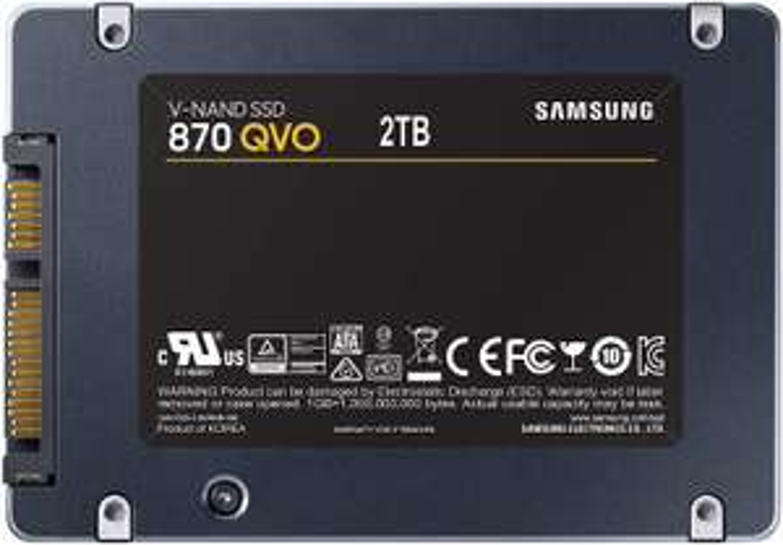 Samsung 870 QVO 2TB SSD @Amazon FR